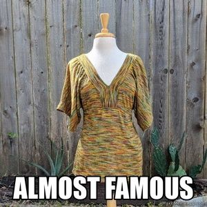 BOHO Almost Famous shirt
